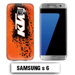 Coque Samsung S6 KTM cross enduro