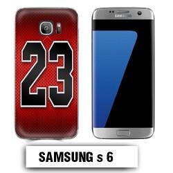 Coque Samsung S6 Air Jordan 23