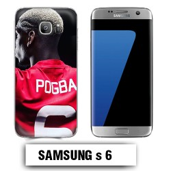 Coque Samsung S6 Pogba Manchester