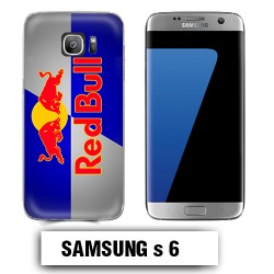 Coque Samsung S6 Red Bull