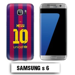 Coque Samsung S6 Barcelone Messi