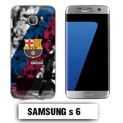 Coque Samsung S6 FCB Barcelone Messi