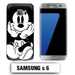Coque Samsung S6 Mickey vintage
