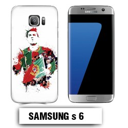 Coque Samsung S6 Ronaldo Madrid CR7