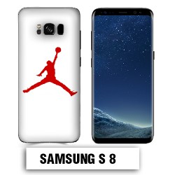 Coque Samsung S8 Air Jordan Rouge