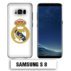Coque Samsung S8 Real Madrid foot