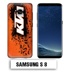 Coque Samsung S8 KTM cross enduro