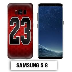 Coque Samsung S8 Air Jordan 23