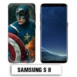 Coque Samsung S8 Captain America Avengers