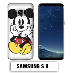 Coque Samsung S8 Mickey couleur