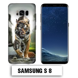 Coque Samsung S8 animal tigre robot