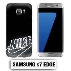 Coque Samsung S7edge logo Nike néon