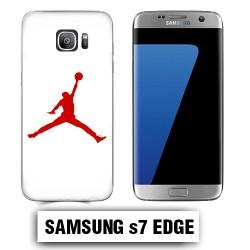 Coque Samsung S7 Edge Air Jordan Rouge