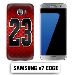 Coque Samsung S7 Edge Air Jordan 23