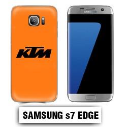 Coque Samsung S7 Edge KTM orange