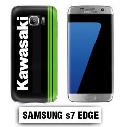 Coque Samsung S7 Edge logo Kawasaki