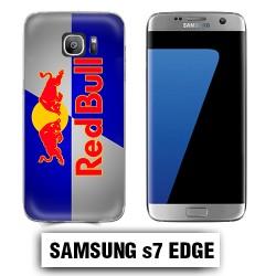 Coque Samsung S7 Edge Red Bul