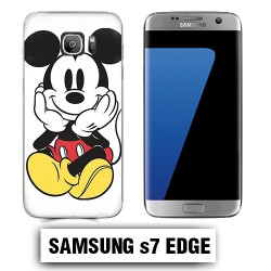 Coque Samsung S7 Edge Mickey couleur