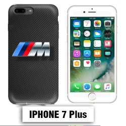 Coque iphone 7 PLUS BMW M Power carbone