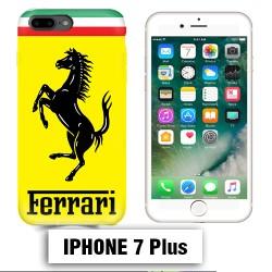 Coque iphone 7 PLUS logo Ferrari Scuderia
