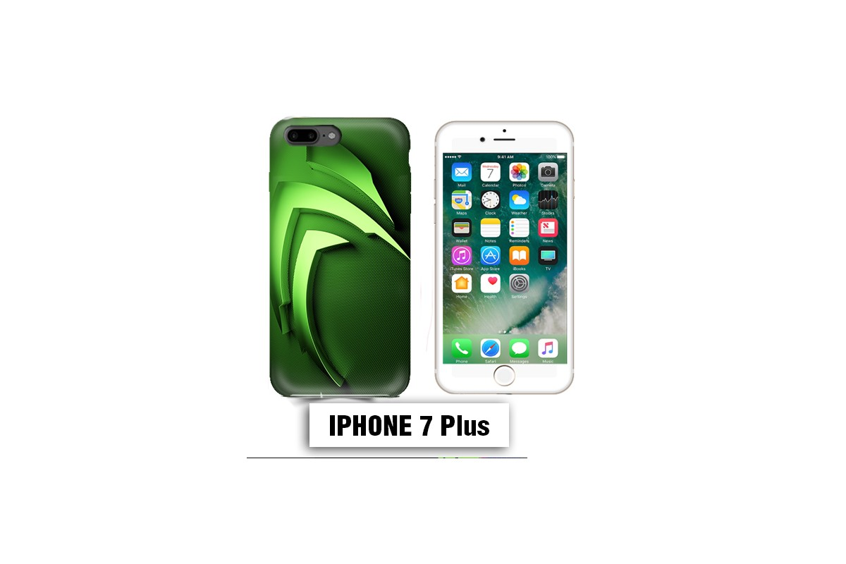 coque iphone 7 verte