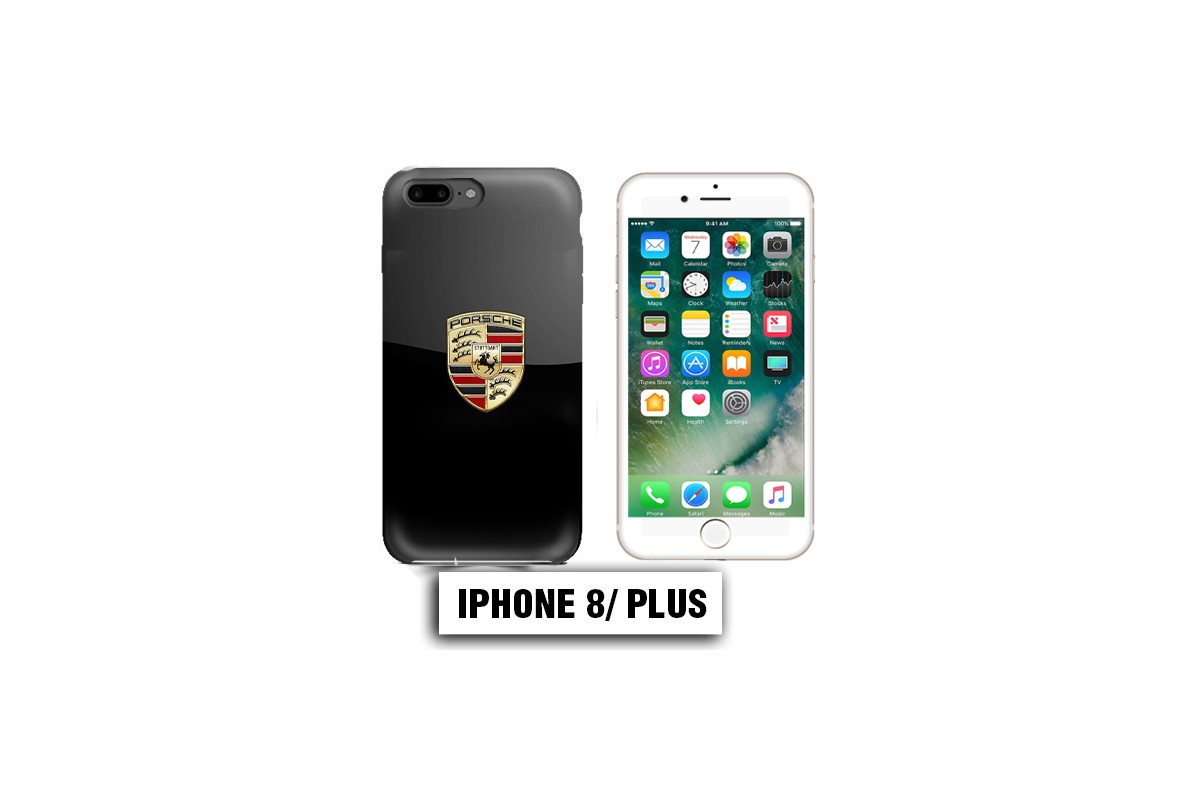 coque iphone 8 porsche