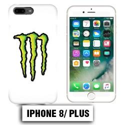 Coque iphone 8 PLUS griffes Energy Monster