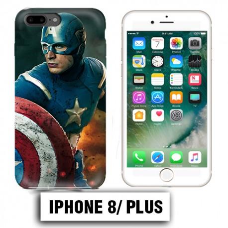 coque captain america iphone 8