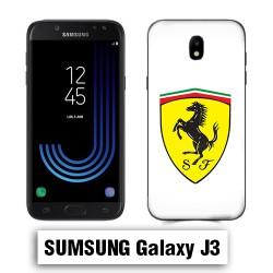 Coque Samsung J3 Logo Ferrari