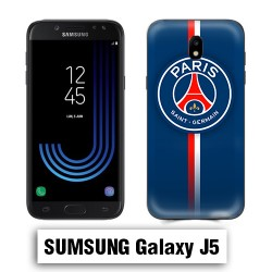 Coque Samsung J5 PSG Bleu Rouge