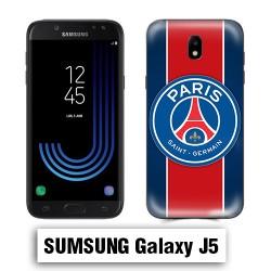 Coque Samsung J5 Foot PSG logo club