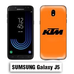 Coque Samsung J5 KTM logo Orange
