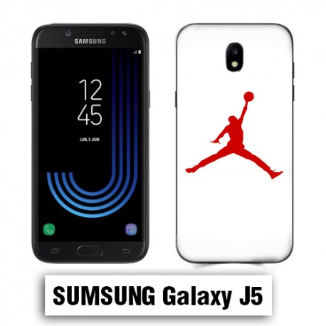 Coque Samsung J5 Air Jordan Rouge