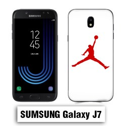 Coque Samsung J7 Air Jordan Rouge
