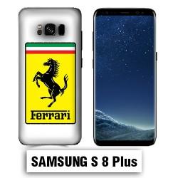 Coque Samsung S8 Plus Logo Ferrari
