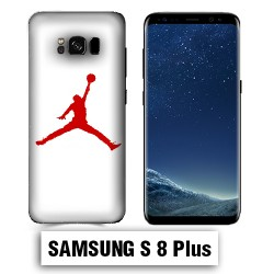 Coque Samsung S8 Plus Air Jordan Rouge