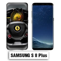 Coque Samsung S8 Plus volant Ferrari