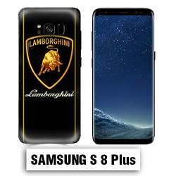 Coque Samsung S8 Plus logo Lamborghini