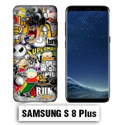 Coque Samsung S8 Plus Park Superman Comics