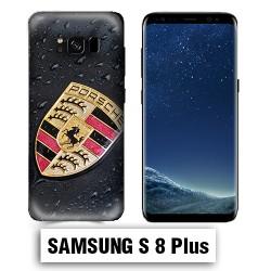 Coque Samsung S8 Plus Logo Porsche