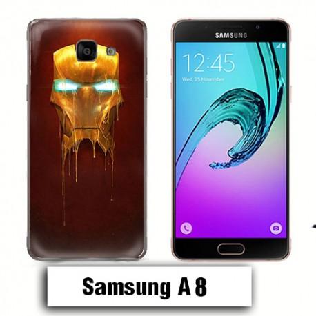 Coque Samsung A8 Iron man