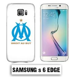 Coque Samsung S6 Edge équipe de Marseille OM foot