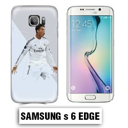 Coque Samsung S6 Edge Ronaldo Madrid