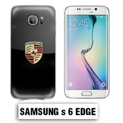Coque Samsung S6 Edge logo Porsche Carrera