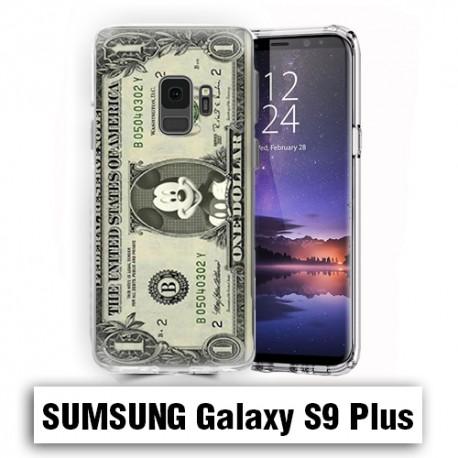 Coque Samsung S9 Plus Mickey Dollar