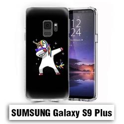 Coque Samsung S9 Plus Licorne Noire