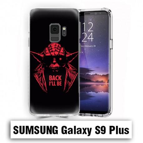 Coque Samsung S9 Plus yoda starwars Back i'll be