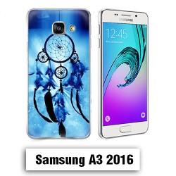 Coque Samsung A3 2016 Attrape Reve Dream Catcher Bleu