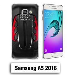 Coque Samsung A5 2016 AUDI RS V8 moteur