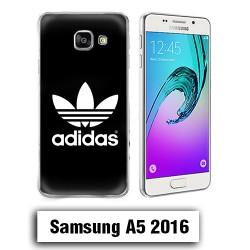 Coque Samsung A5 2016 Paris Logo Adidas Noire